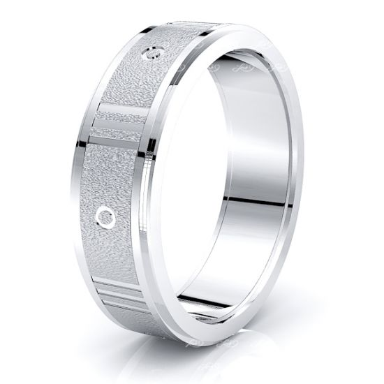 Huxley Solid 6mm Mens Wedding Ring