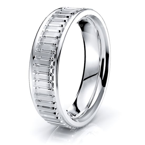 Winifred Solid 6mm Mens Wedding Ring