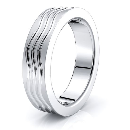 Duncan Solid 6mm Mens Wedding Ring