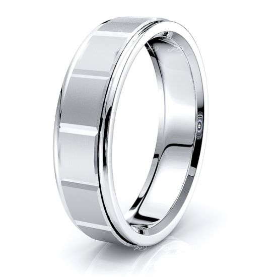 Siobhan Solid 6mm Mens Wedding Ring