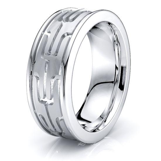 Ida Solid 7mm Mens Wedding Band