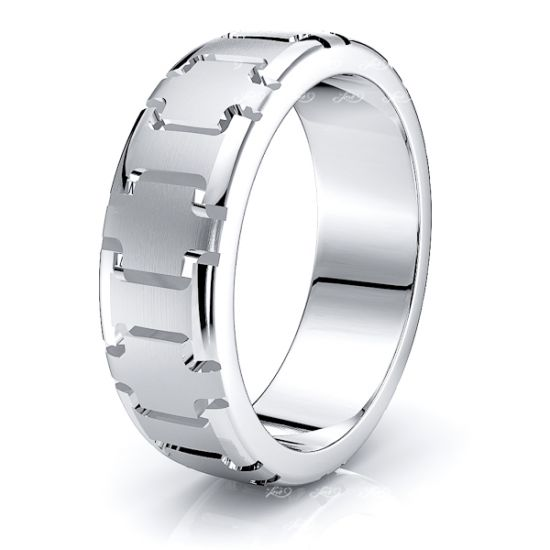 Inigo Solid 7mm Mens Wedding Band