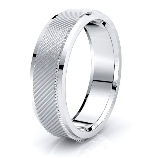 Cato Solid 7mm Mens Wedding Ring
