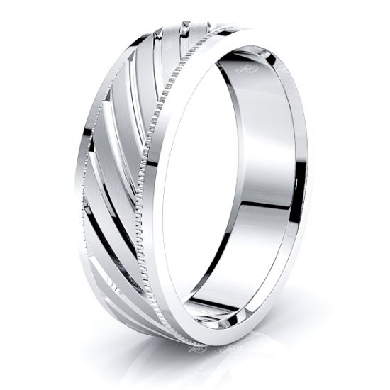 Summer Solid 6mm Mens Wedding Band
