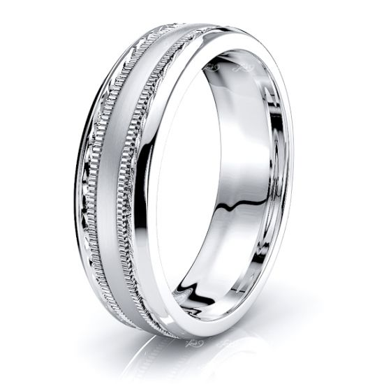 Philip Solid 6mm Mens Wedding Band