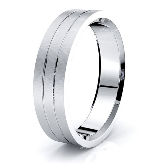 Ainsley Solid 6mm Mens Wedding Ring