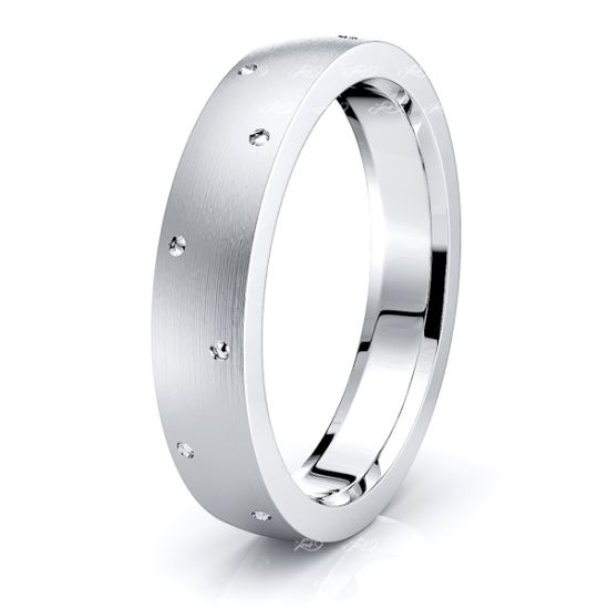 Breccan Solid 7mm Mens Wedding Band