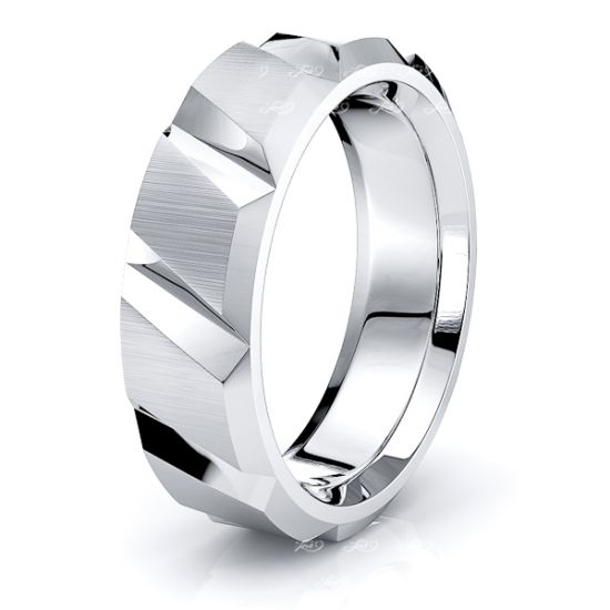 Ottilie Solid 6mm Mens Wedding Ring