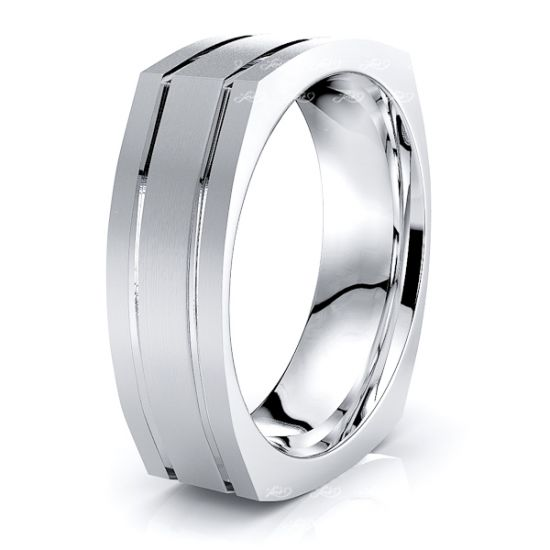 Malcolm Solid 7mm Mens Wedding Band
