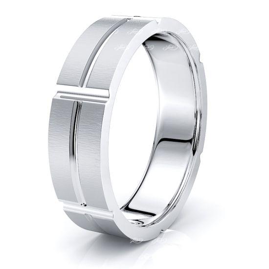 Marina Solid 7mm Mens Wedding Ring