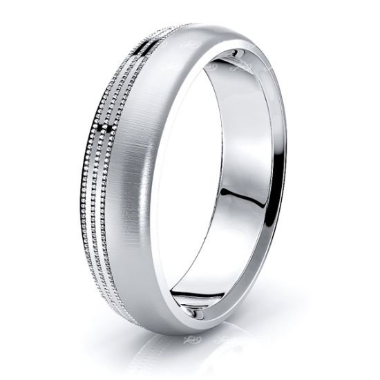 Odin Solid 6mm Mens Wedding Band