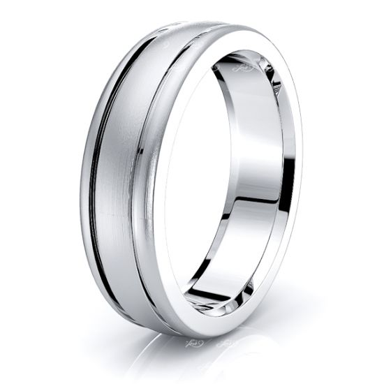 Angus Solid 6mm Mens Wedding Band