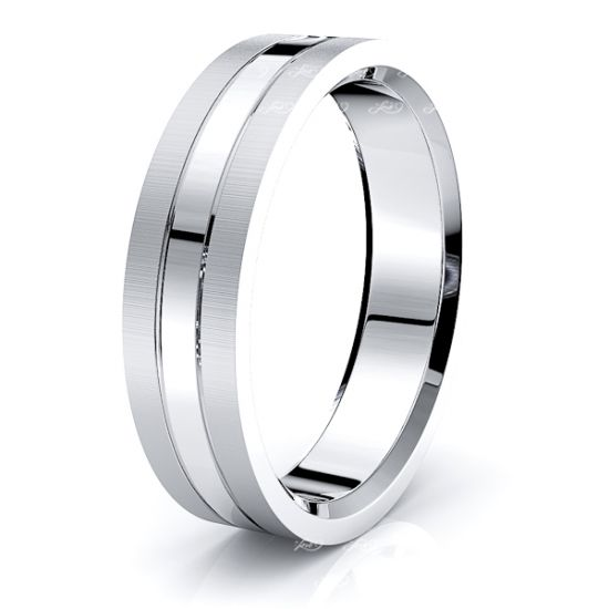 Alistair Solid 6mm Mens Wedding Band