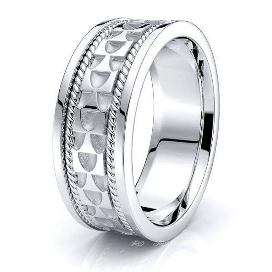 Allen Celtic Knot Mens Wedding Ring
