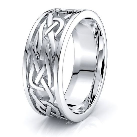 Richard Celtic Knot Mens Wedding Ring