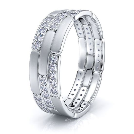 Adelaide Mens Diamond Wedding Ring