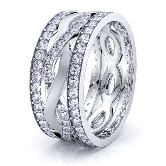 Lucy Mens Diamond Wedding Band