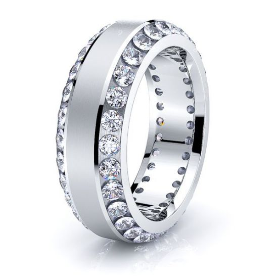 Alice Mens Diamond Wedding Ring