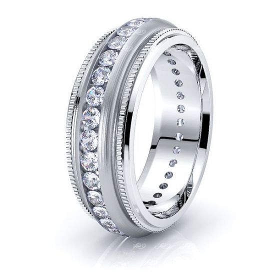 Aria Mens Diamond Wedding Ring