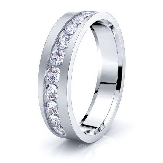 Eliza Mens Diamond Wedding Ring