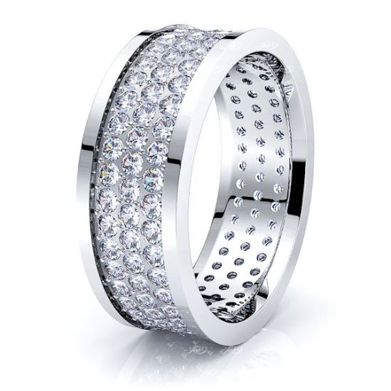 eve Mens Diamond Wedding Band