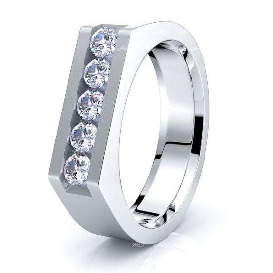 Merida Mens Diamond Wedding Band