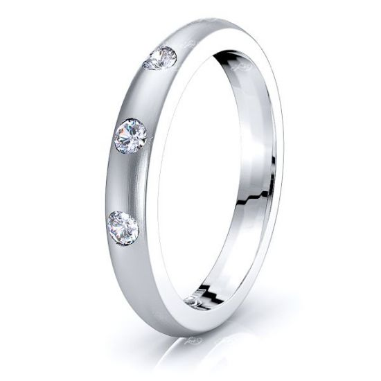 Eva Mens Diamond Wedding Ring