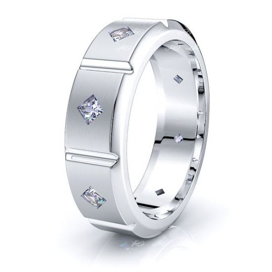 Avery Mens Diamond Wedding Band