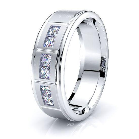 Cosima Mens Diamond Wedding Ring