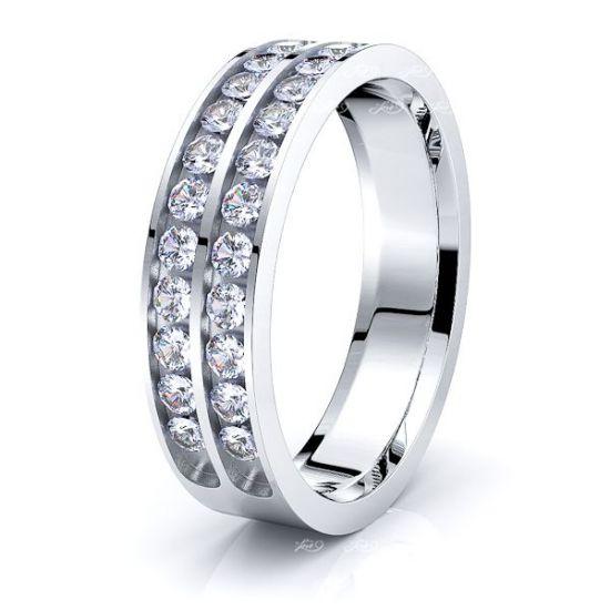Daphne Mens Diamond Wedding Band