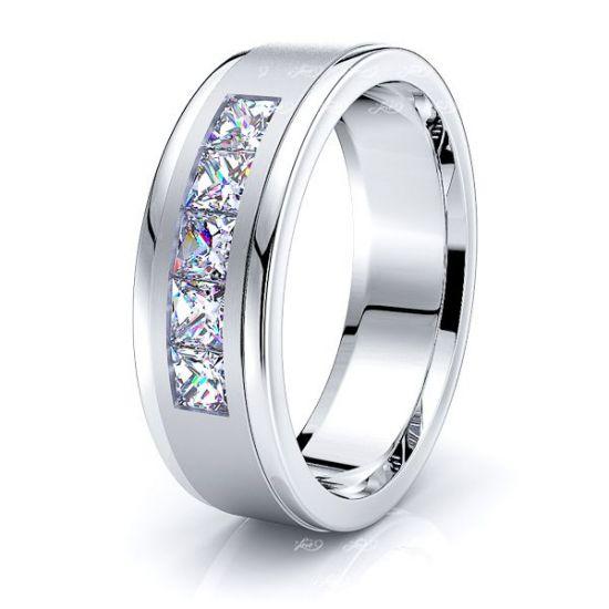 Eliana Mens Diamond Wedding Ring