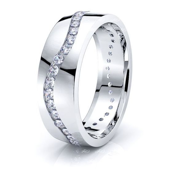 Rosalie Mens Diamond Wedding Band