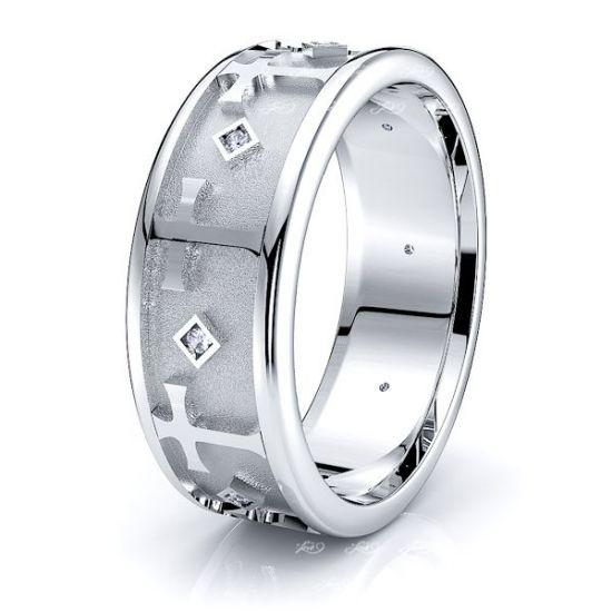Lyra Mens Diamond Wedding Ring