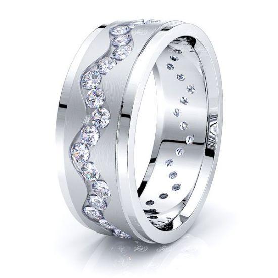 Beatrix Mens Diamond Wedding Ring