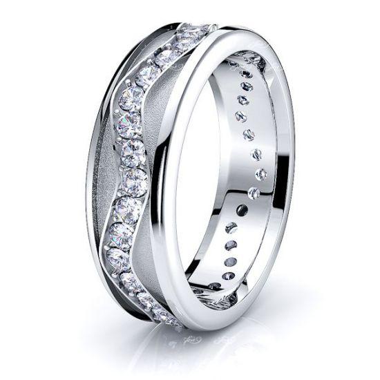 Lux Mens Diamond Wedding Ring
