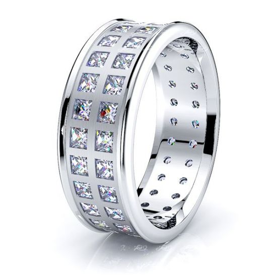 Tessa Mens Diamond Wedding Ring