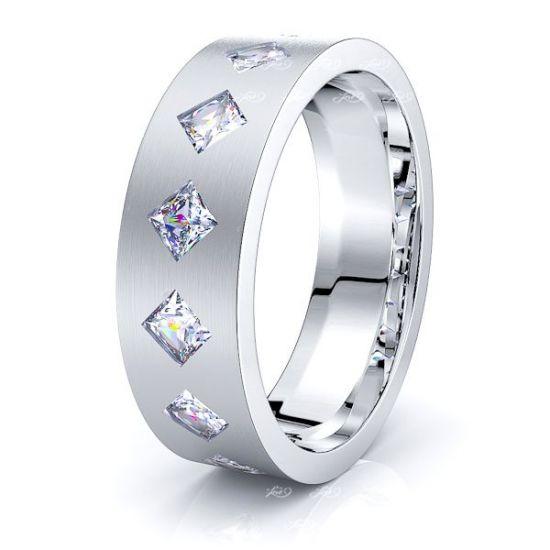 Alexandra Mens Diamond Wedding Band