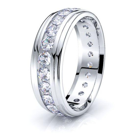 Kate Mens Diamond Wedding Ring