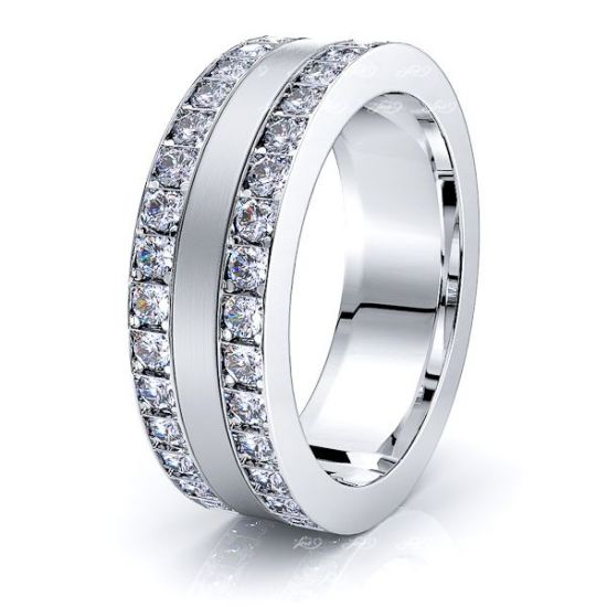 Azalea Mens Diamond Wedding Band