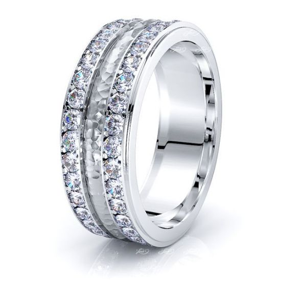 Lucia Mens Diamond Wedding Band