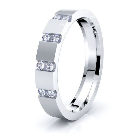 Cecily Mens Diamond Wedding Ring