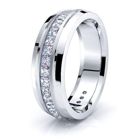 Fiona Mens Diamond Wedding Band