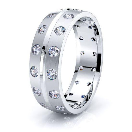 Edie Mens Diamond Wedding Band