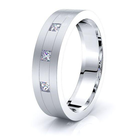 Calliope Mens Diamond Wedding Ring