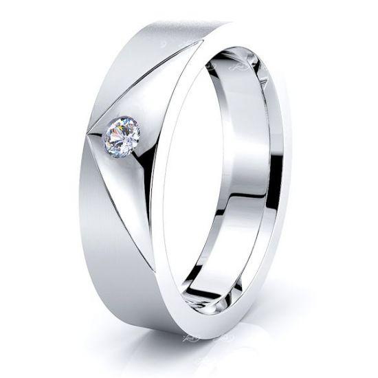 Hattie Mens Diamond Wedding Ring