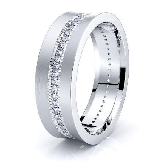 Louise Mens Diamond Wedding Ring