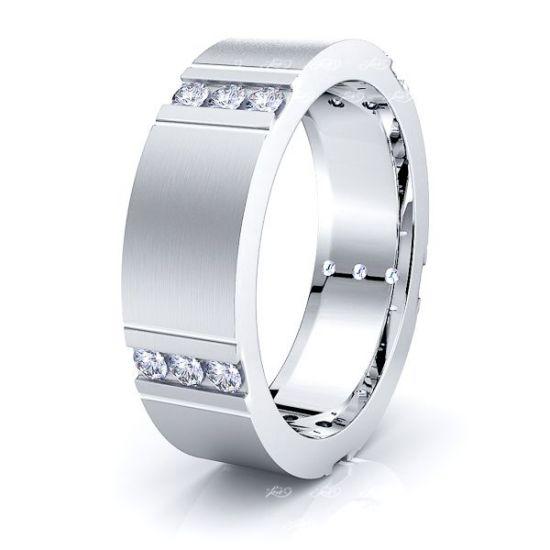 Romilly Mens Diamond Wedding Ring