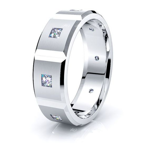 Celia Mens Diamond Wedding Ring