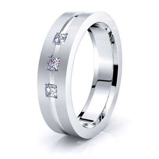 Keziah Mens Diamond Wedding Ring
