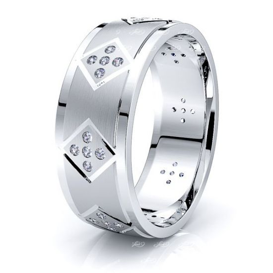 Margo Mens Diamond Wedding Ring